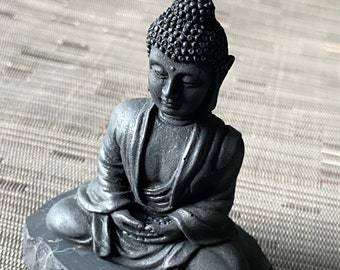 Shungite Buddha Statue