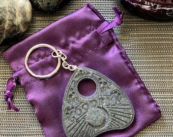 Ouija Planchette Keychain