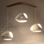 DOUBLE-CUT BOOMERANG : On Sale 25% Off | Ceramic Chandelier | Ceiling Lighting