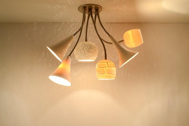 CLAYLIGHT BOUQUET: Cluster Lighting  LED Light Fixture  image 0