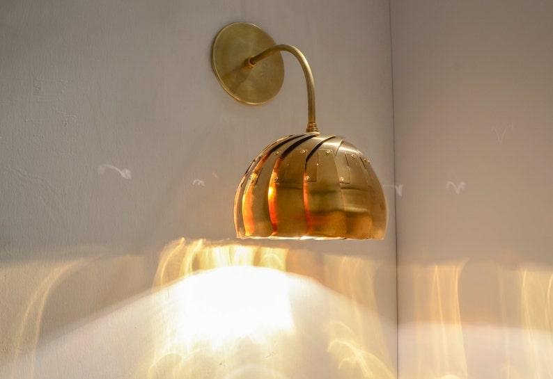 IRIS SCONCE : On Sale 30% Off  Steampunk Lighting  Wall Lamp image 0
