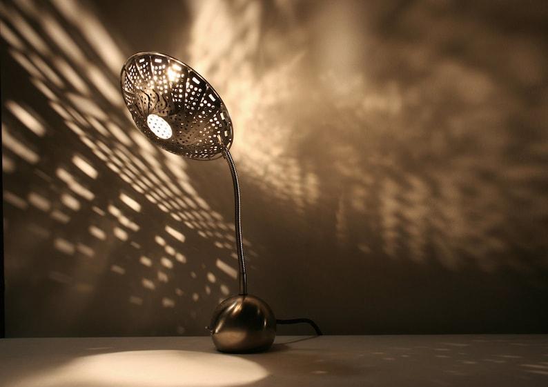 STEAMLIGHT DESK LAMP : On Sale 20% Off  Steampunk Decor  image 0