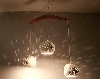 CLAYLIGHT BOOMERANG THREE: On Sale 24% Off | Chandelier Lighting | Ceramic Lights | Designer Pendant Lamps
