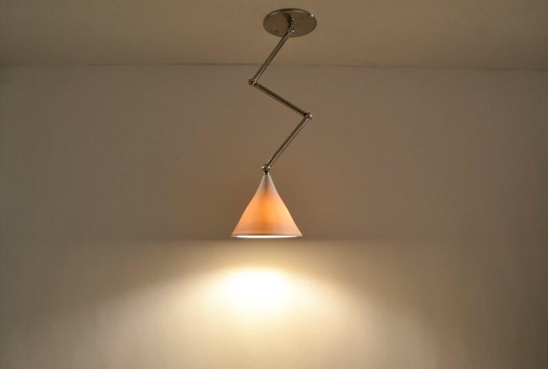 GRAMOPHONE Z-LIGHT : Porcelain Light Fixture  Adjustable image 0