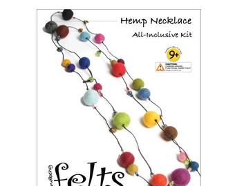 HandBEHG Felts - Hemp Necklace Kit