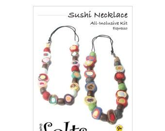 HandBEHG Felts - Sushi Necklace Kit