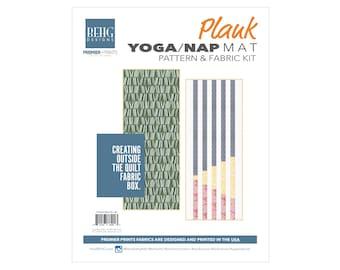 Yoga/Nap Mat - PLANK Fabric Bundle & Pattern - BEHG DESIGNS for Premier Prints