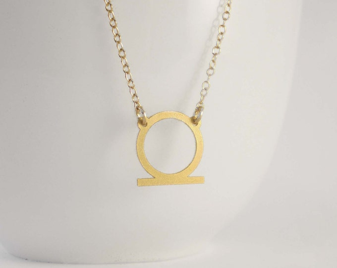 Shen Eternity Necklace -  Egyptian Symbol for Eternity and Protection, Eternity Necklace, Protection Necklace