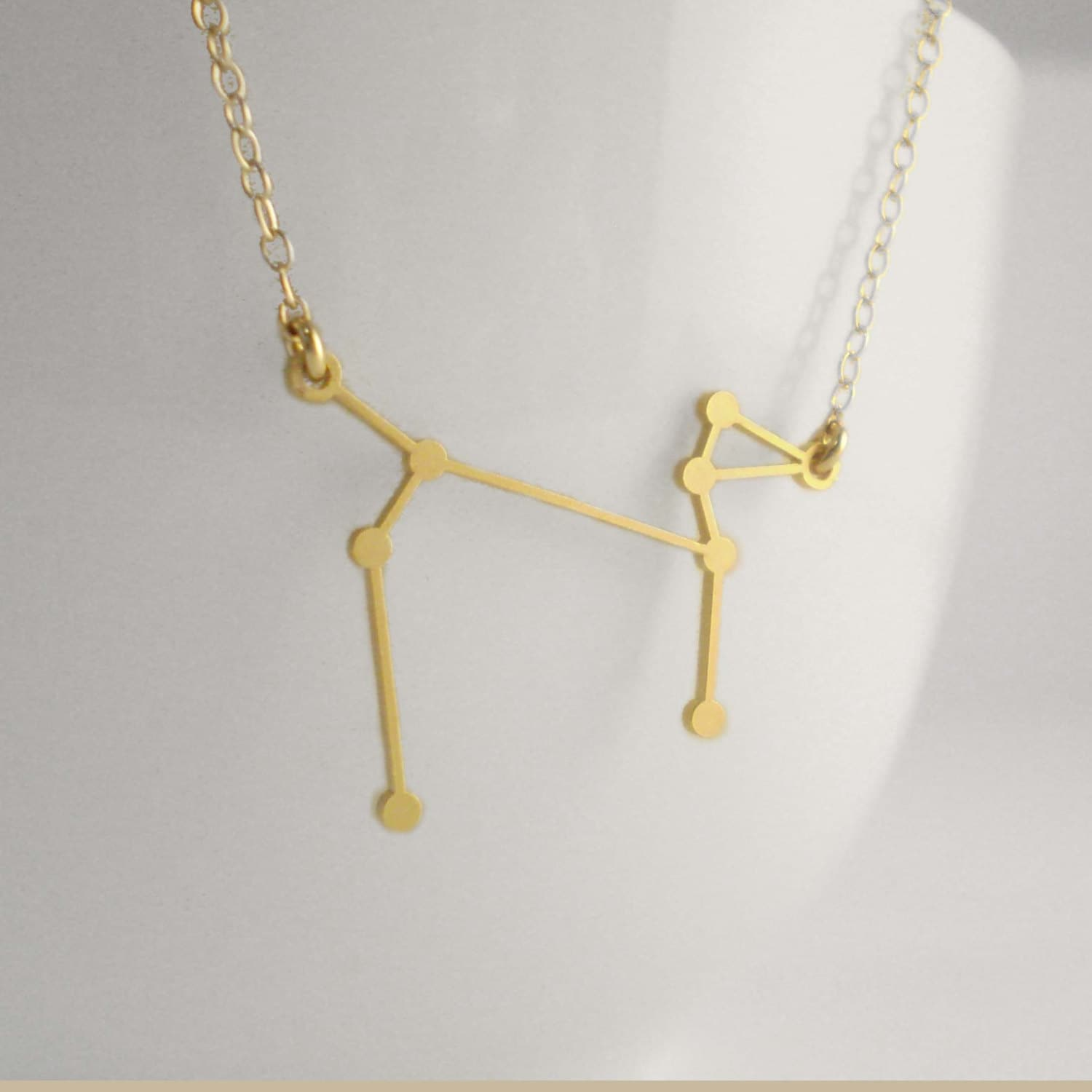Canis Major Constellation Necklace, Constellation Necklace