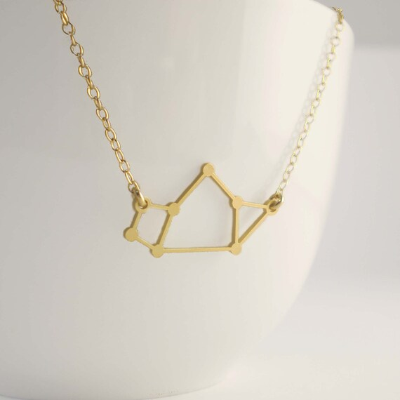 Sagittarius Constellation Necklace, Zodiac Constellation, Constellation Necklace, Zodiac Necklace, Astrology, Stars