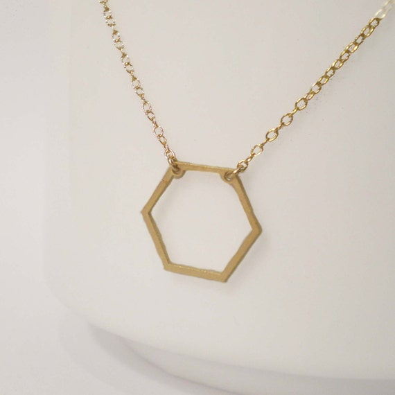 Hexagon Necklace