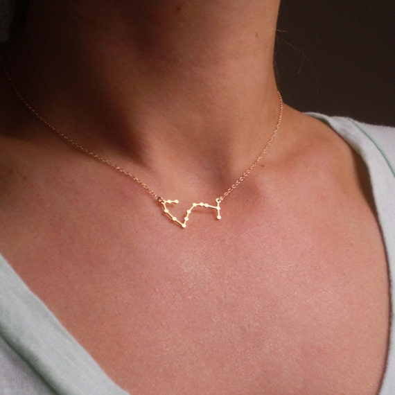 Scorpio Constellation Necklace, Zodiac Constellation, Constellation Necklace, Astrology