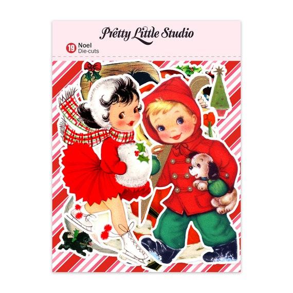 Fabrication Carte etc Pixie à thème Noël Die Cuts-Assortiment ensembles de 24 pièces