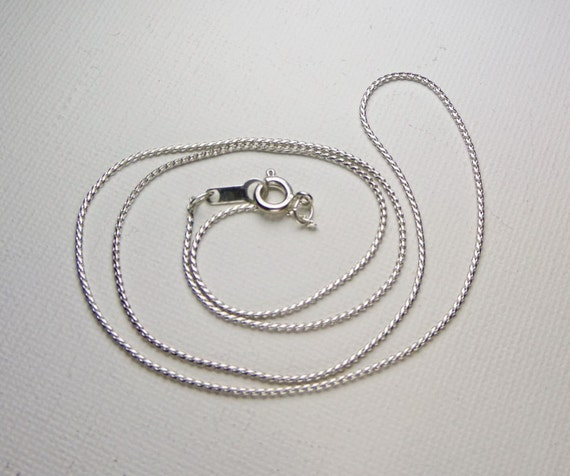 Add A Chain: Silver Necklace