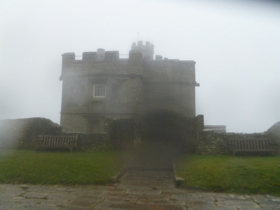 Castle in the Mist - Henry VIII Cornish Castle - Photo Instant Download