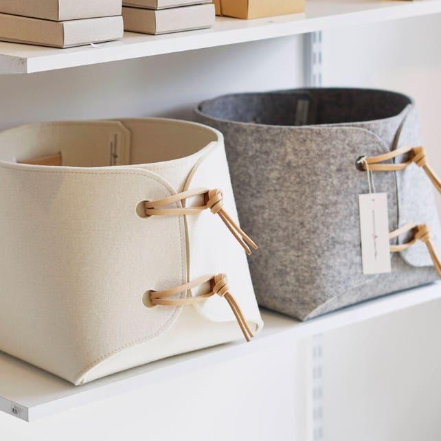 Fabric Bin Large Toy Storage Bin With Leather Straps Big | Etsy