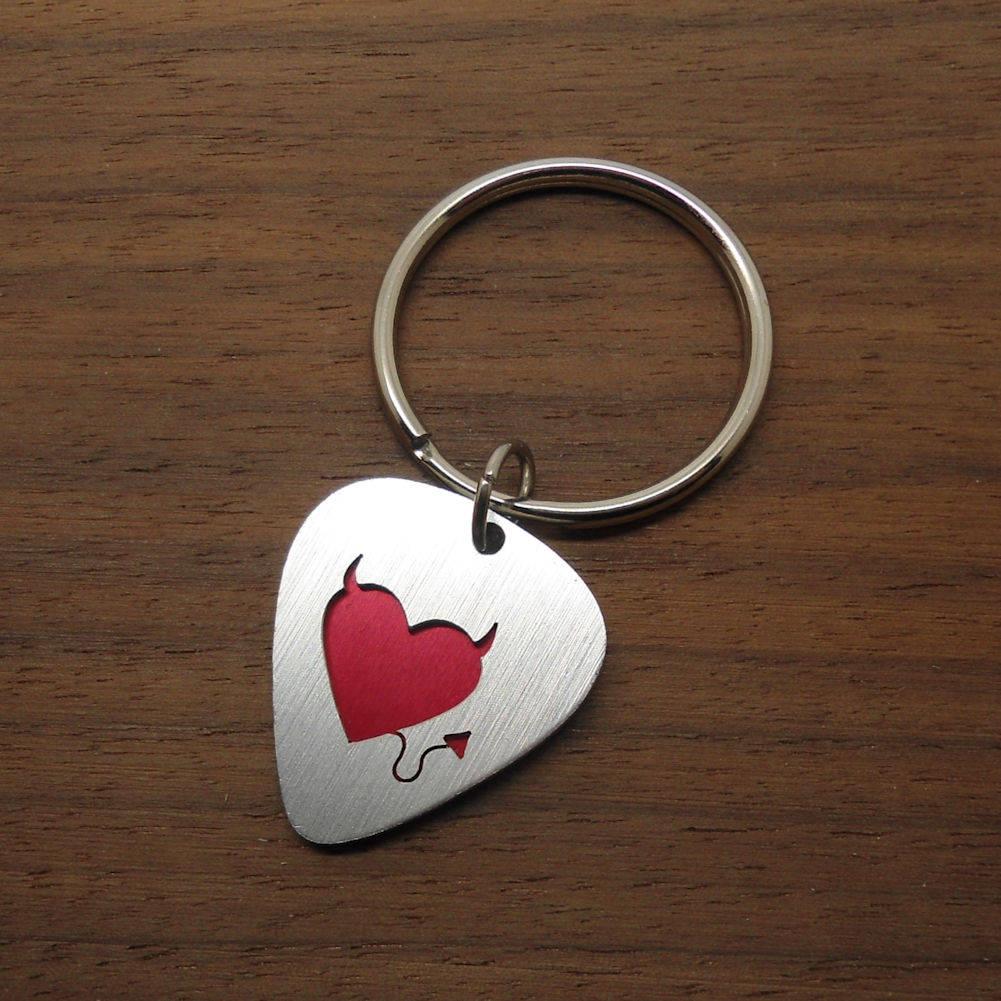 Keychain I love my dog heart crochet heart keychain  you choose dog and color