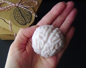 Brain Soap - Cotton Candy Scented - Goat Milk Soap - Great Graduation Gift - Novelty Soap Gift - gift for him - handmade soap - shaped soap