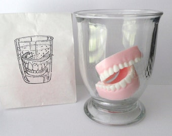 Denture Soap Set - Glycerin - Unscented  - Novelty - Gag Gift - Mothers Day - Fathers Day - Shaped Soap