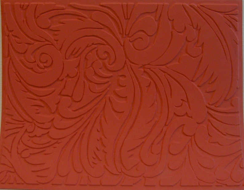Flourish Rubber Stamp image 0