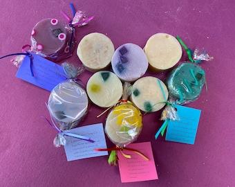 Medium Round All-Natural Handmade Bar Soap