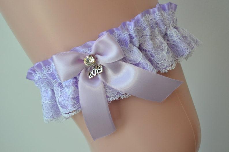 Lavender Prom Garters Prom Garter Custom Made Prom Garter