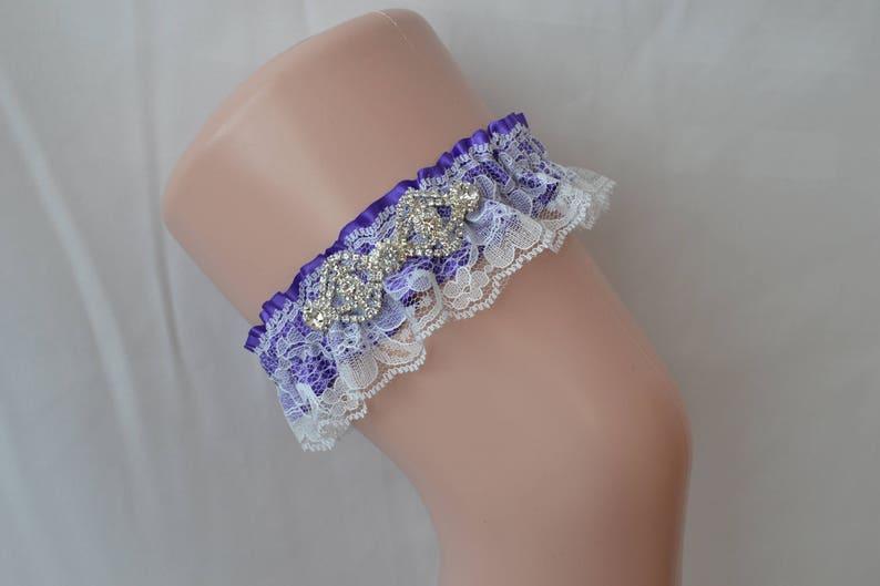 8dcfcdd5a Purple Prom Garters Prom Garter Custom Made Prom Garter