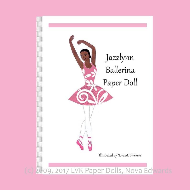 Jazzlynn Ballerina Paper Doll