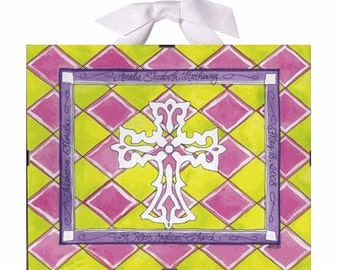 Christening Gift / Baptism Gift for Girls - Personalized