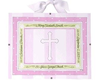 Baptism Gift for Girls - Personalized Christening Gift, Girl's Baptism, Baptism Frame, Confirmation
