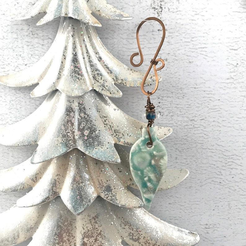 SALE Handmade Christmas Ornament  Beach Themed Ornament  image 1