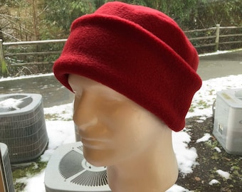 7da0a0415f5 Adult Fleece PILLBOX Hat