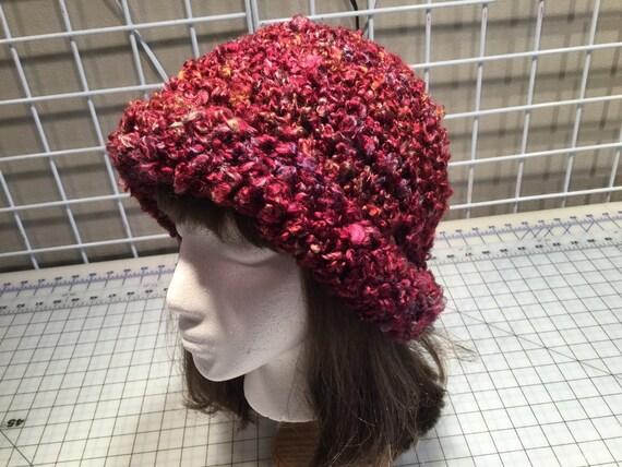 0967f77acfd Crocheted bucket hat women s winter hat bucket hat hand