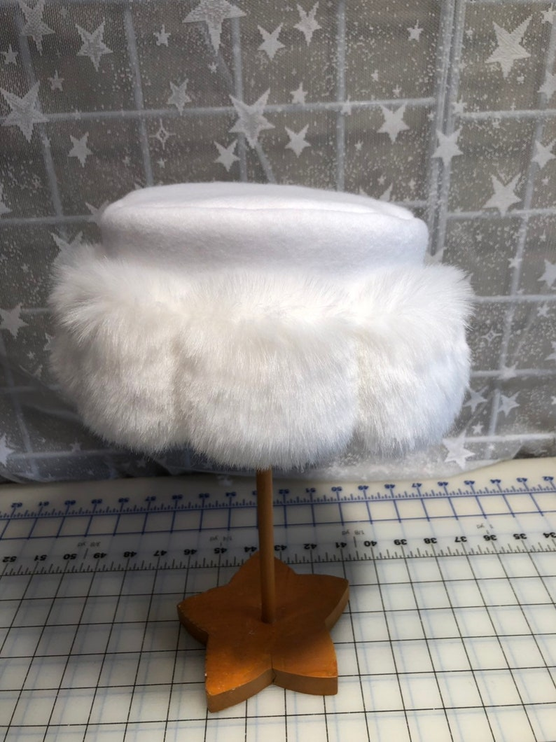 82739c2ab77 Child s Snow White Mink Faux Fur Hat Girl s Winter