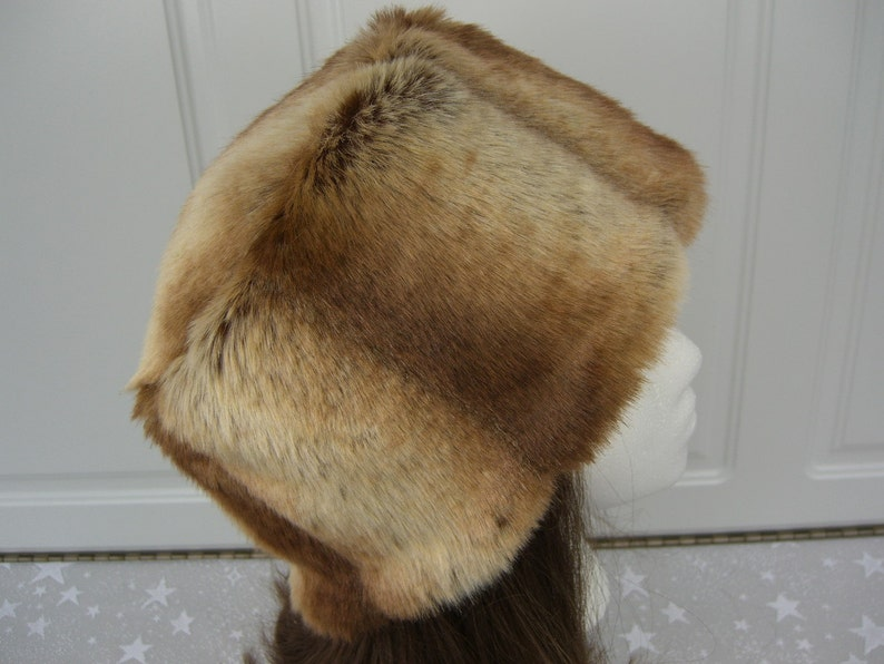 81e7532a1e3 Chinchilla Faux Fur Hat Faux Fur Hat Bucket Hat