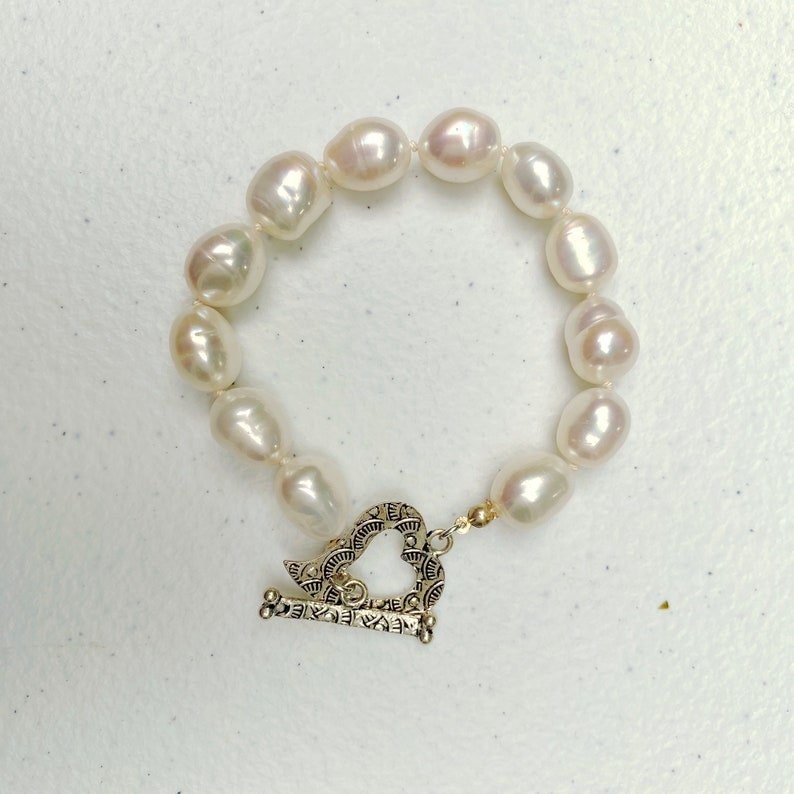 Cultured Freshwater Baroque Pearl Bracelet