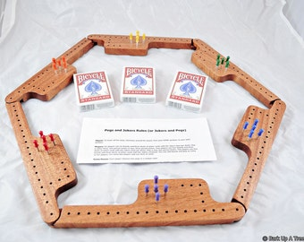 Pegs And Jokers Game Set