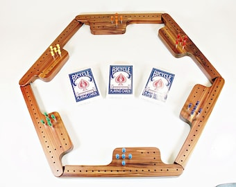 Pegs and Jokers Game Set - Tennessee Red Cedar   Free Shipping