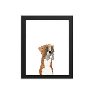 Funny Celebration Dog Card For Him American Boxer Dog Birthday Card Printable