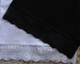 c52219ce57 Lot of 2 New Lace trimmed Maternity Belly Band Bella Nursing Cover Plus  Sizes XL -XXXL