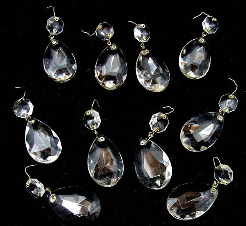 c6edeb411b Vintage glass prism lot crystal lot-large 2 1 4