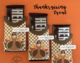 KIT Thanksgiving Candy Bar Wrappers, Happy Thanksgiving Turkey, Co-Workers, Employees, Hershey Candy Bar Wrap, Teacher Appreciation, Hershey