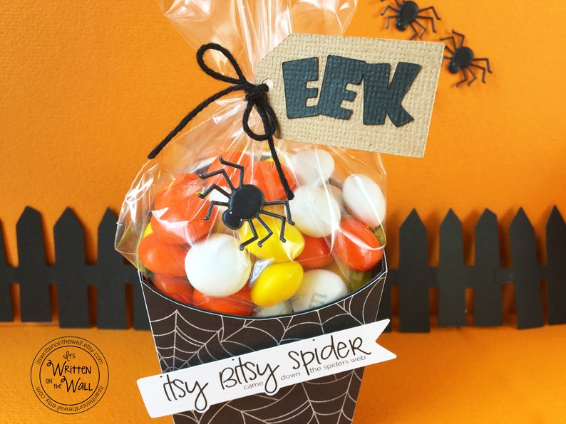 KIT Halloween Treat Box Itsy Bitsy Spider Treat Box Teacher image 0