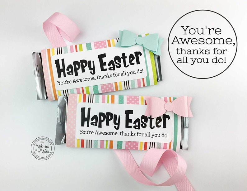 KIT You're Awesome Easter /Employee Gifts / Easter Basket image 0