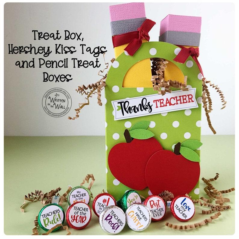 KIT Pencil Treat Box/Teacher Appreciation/School office Staff image 0