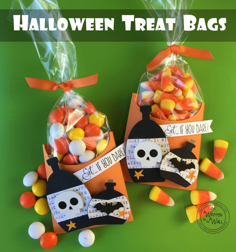KIT Halloween Treat Box Potion Bottles-Eat if you Dare Candy image 0