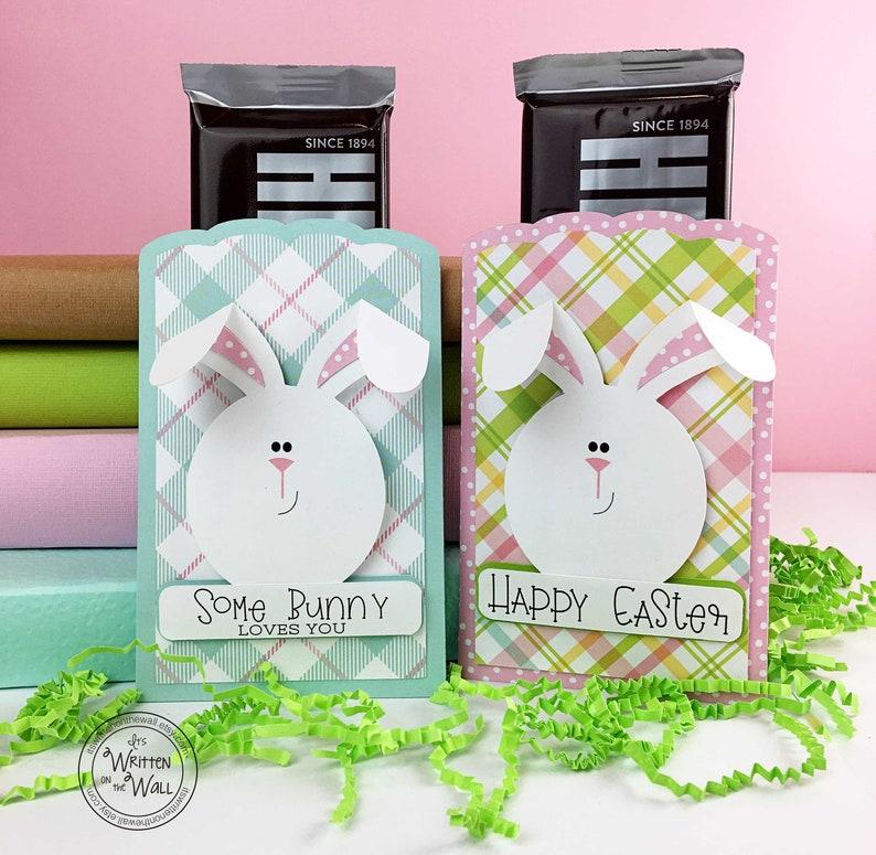 KIT Easter Treat Pocket / Bunny / Party Favor/ Easter Baskets image 0
