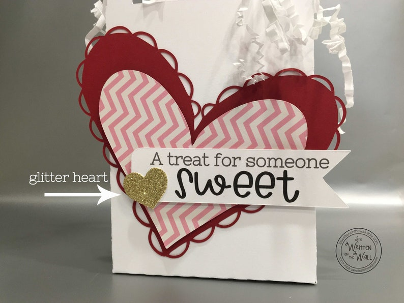 Kit Treat Box Valentine for Someone Sweet Hearts CoWorker image 0