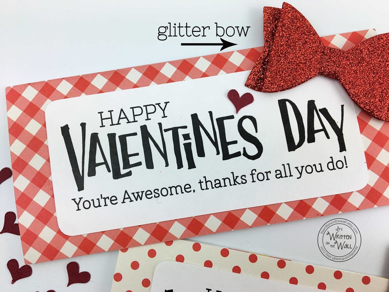 KIT You're Awesome Valentines Day / Employee gift / Candy image 0