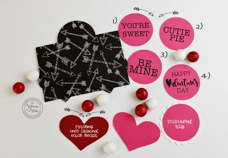 5ffb12369ad6 KIT Valentine s Day Heart Treat Bags   Party Favor